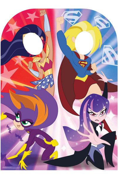 Superhero Girls Child Size Stand In Official Cardboard Cutout