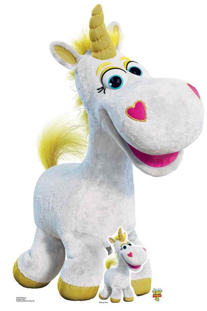 Buttercup Unicorn Official Disney Toy Story 4 Lifesize Cardboard Cutout