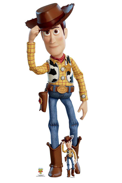 Woody Tipping Hat Official Disney Toy Story 4 Lifesize Cardboard Cutout