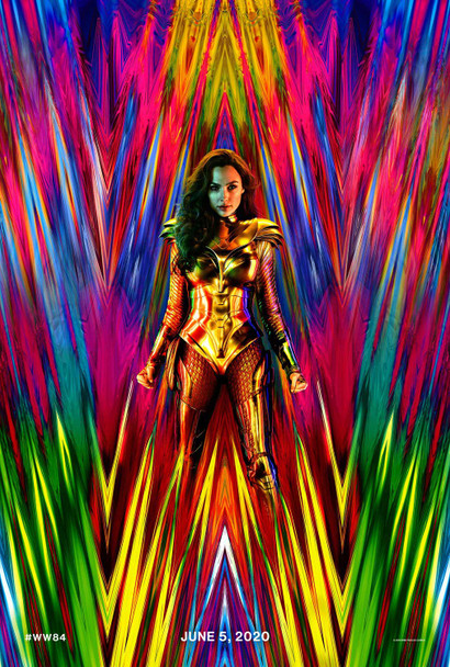 Wonder Woman 1984 Original Movie Poster - Advance Style