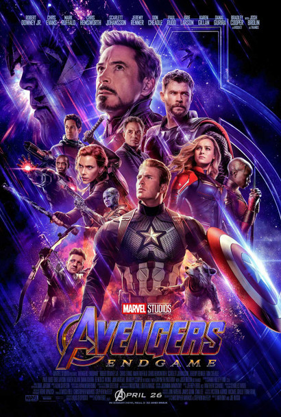 Avengers: Endgame Original Movie Poster - Final Style