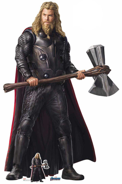 Thor Stormbreaker Marvel Avengers: Endgame Cardboard Cutout