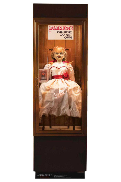 Annabelle from The Conjuring Cardboard Cutout
