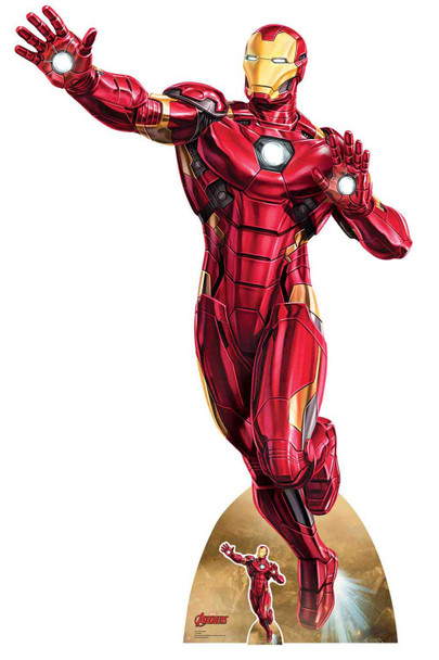 Iron Man Take Off Marvel Legends Official Cardboard Cutout