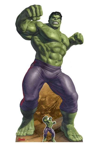The Incredible Hulk Marvel Legends Official Cardboard Cutout