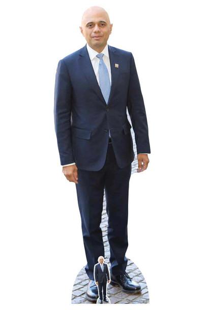 Sajid Javid Politician Lifesize Cardboard Cutout / Standee