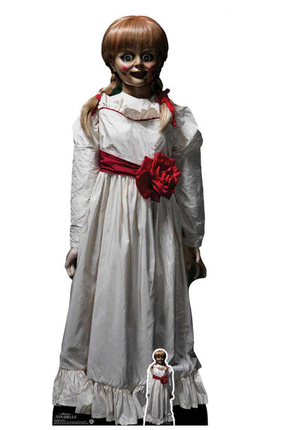 Annabelle Haunted Doll from The Conjuring Universe Official Cardboard Cutout