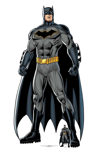 Batman Caped Crusader Official DC Comics Lifesize Cardboard Cutout