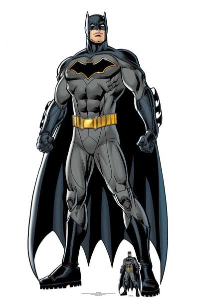 Batman Caped Crusader Official DC Comics Lifesize Cardboard Cutout