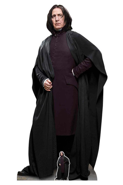 Professor Snape 2019 Official Harry Potter Lifesize Cardboard Cutout / Standup