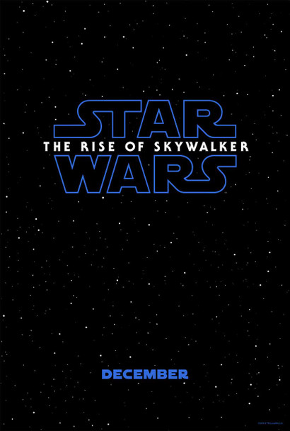 Star Wars: The Rise Of Skywalker Original Movie Poster Advance Style