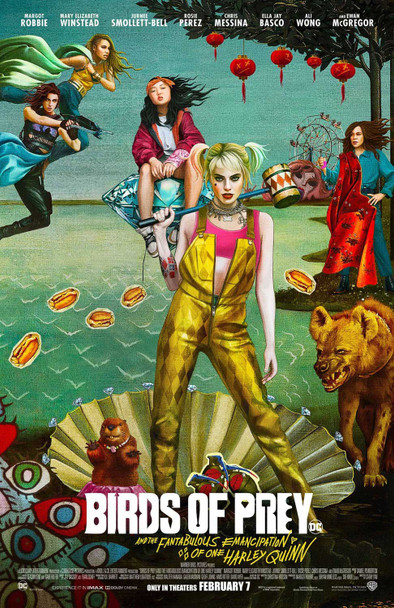 Birds Of Prey Original Movie Poster Double Sided Final Style