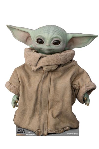 The Child (Baby Yoda) Official Mandalorian Cardboard Cutout