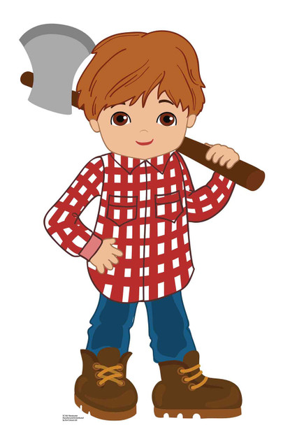 Woodcutter from Little Red Riding Hood Fairy Tales Cardboard Cutout