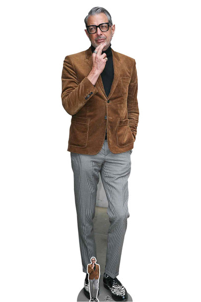 Jeff Goldblum Suede Jacket Lifesize Cardboard Cutout / Standee
