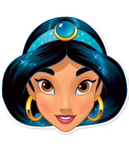 Jasmine Official Disney Princess Child Size 2D Card Party Mask