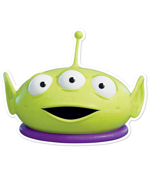 Little Green Man Official Disney Toy Story Child Size 2D Card Party Mask