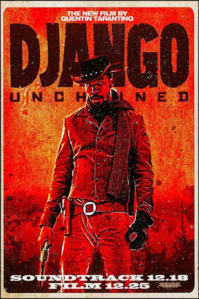 Django Unchained Original Movie Poster Rare Wilding Style