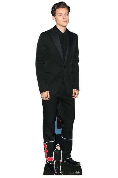 Harry Styles Black Suit Lifesize Cardboard Cutout / Standee