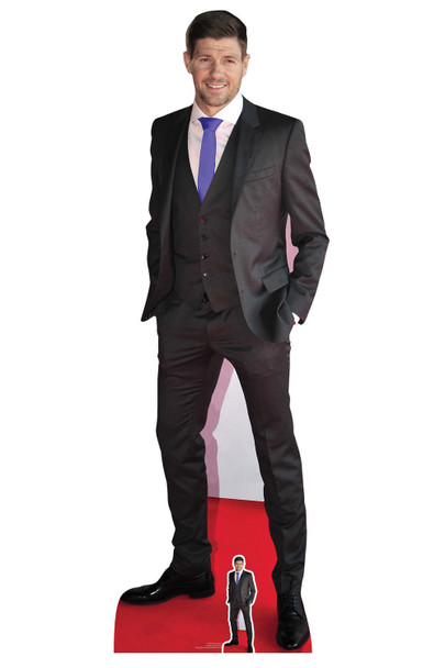Steven Gerrard Suit Lifesize Cardboard Cutout / Standee / Standup