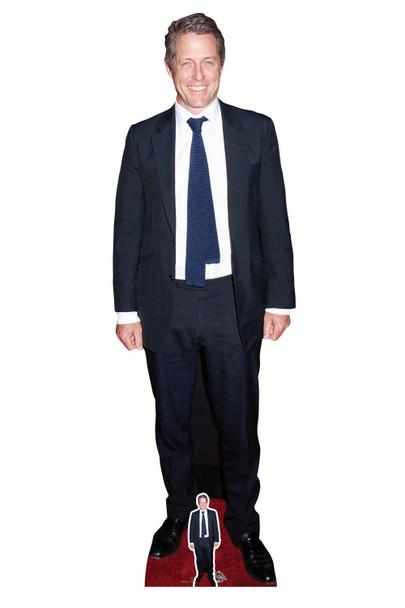Hugh Grant Smart Suit Celebrity Lifesize and Mini Cardboard Cutout / Standup
