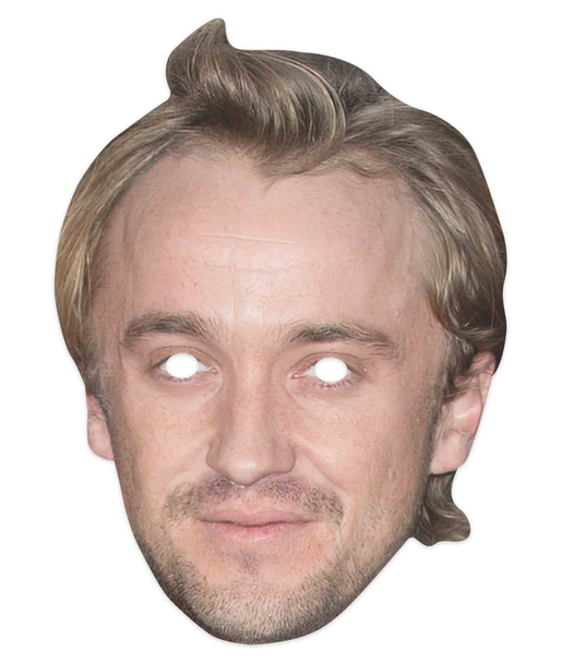 Tom Felton Celebrity 2D Single Card Party Mask