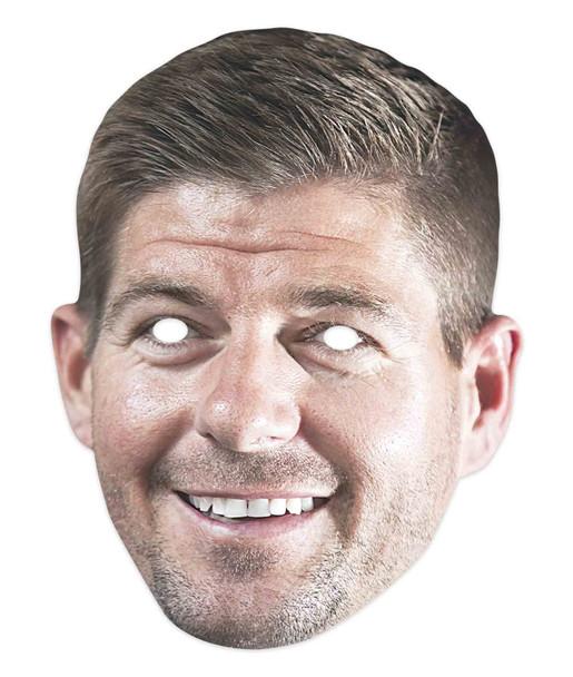 Steven Gerrard Football Celebrity 2D Single Card Party Mask