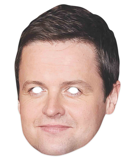 Declan Donnelly Celebrity 2D Single Card Party Mask