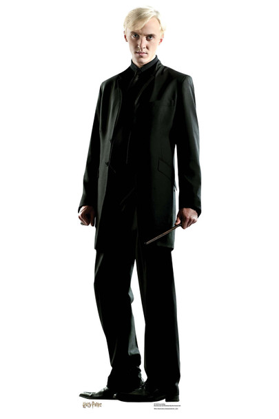Draco Malfoy from Harry Potter Mini Cardboard Cutout / Standee