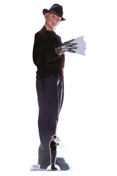 Freddy Krueger from Freddy vs. Jason Official Lifesize and Mini Cardboard Cutout
