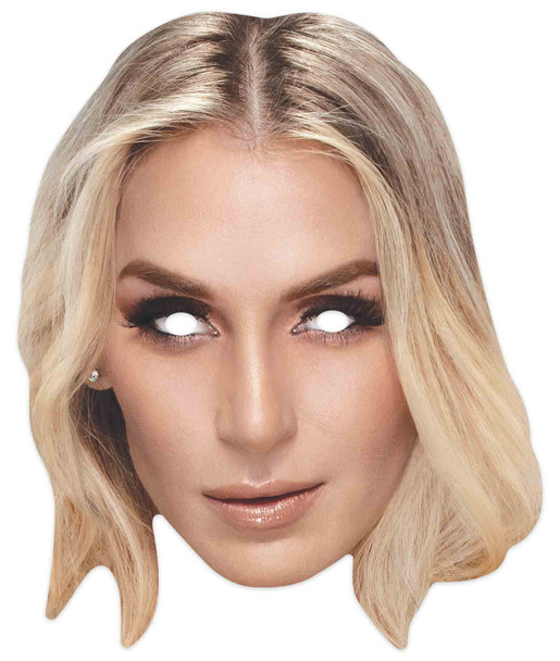 Charlotte Flair  WWE Wrestler Official Single 2D Card Party Face Mask