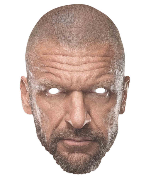 Triple H WWE Wrestler Official Single 2D Card Party Face Mask