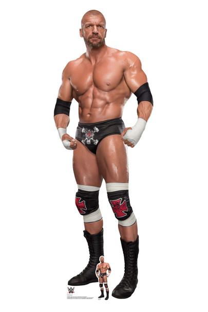 Triple H WWE Lifesize and Mini Cardboard Cutout / Standup
