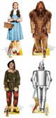 Wizard of Oz Set of 4 Cardboard Standups