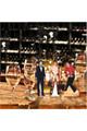 Elvis Table Top Cardboard Cutouts In-Situ