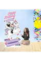 Minnie Mouse and Unicorn Disney Personalised cutout in situ