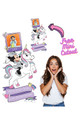 Minnie Mouse and Unicorn Personalised Photo Cardboard Cutout - example