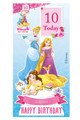 Disney Princess Personalised Happy Birthday Cardboard Cutout in situ