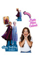 Frozen Personalised Photo and Name Cardboard Cutout / Standup Example 4