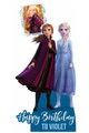 Frozen Personalised Photo and Name Cardboard Cutout / Standup Example 3