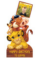 Lion King Disney Personalised Photo and Name Cardboard Cutout Example 2