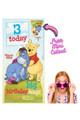 Winnie the Pooh Disney Personalised Happy Birthday Cardboard Cutout Example 1