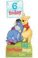 Winnie the Pooh Disney Personalised Happy Birthday Cardboard Cutout Example