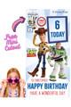 Toy Story Disney Personalised Happy Birthday Cardboard Cutout Example 2