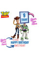 Toy Story Disney Personalised Happy Birthday Cardboard Cutout example 1