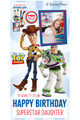 Toy Story Disney Personalised Photo and Name Cardboard Cutout Example 2