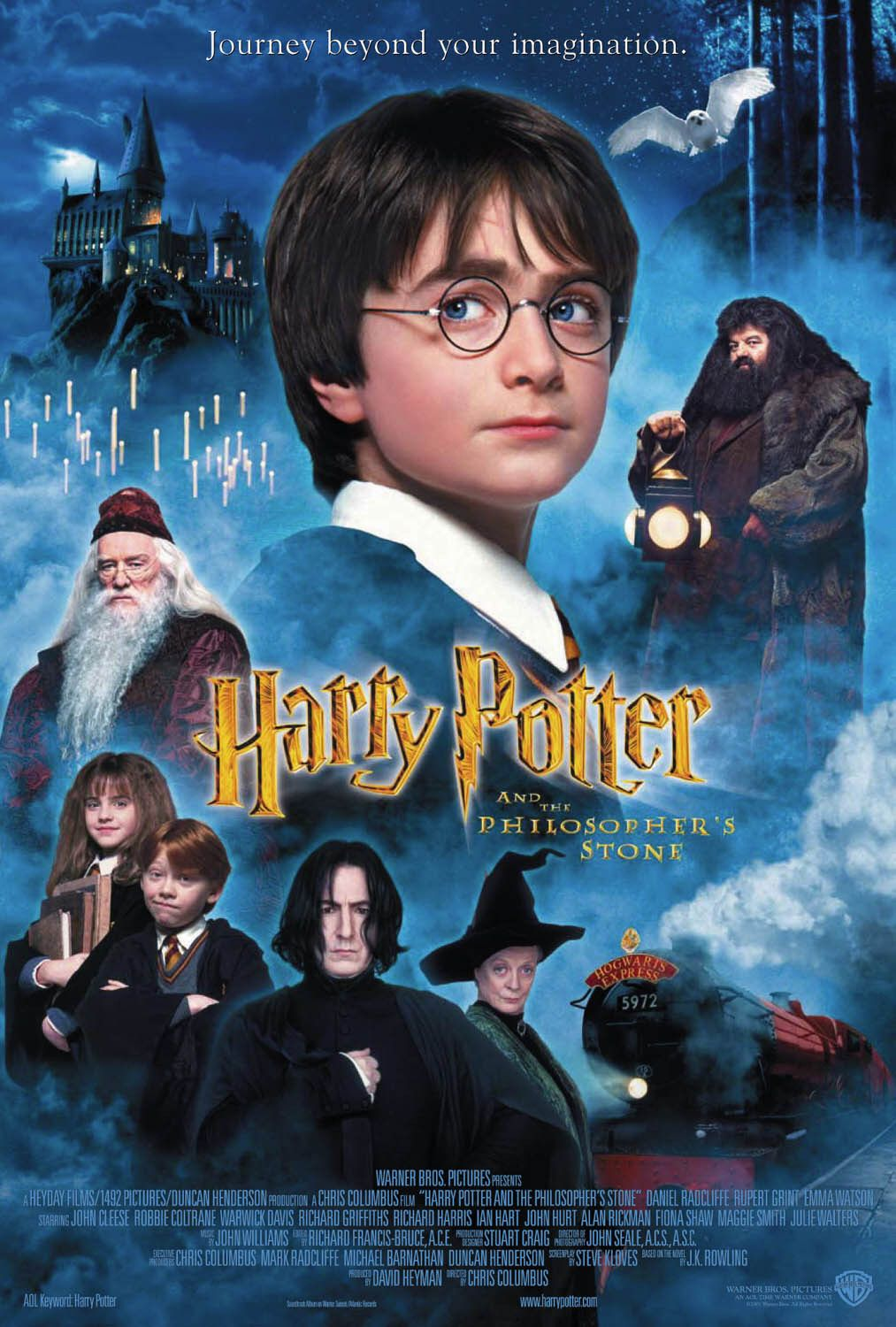 HARRY POTTER AND THE PHILOSOPHER'S STONE (International) POSTER buy movie posters at Starstills.com (SSF2087-500315)