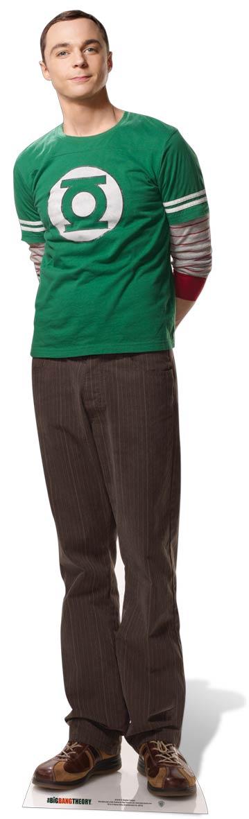 Big Bang Theory Dr Leonard Hofstadter Cool Cardboard Cutout Figure 170cm Tall