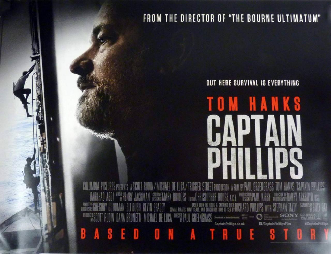 Captain Phillips Movie Poster buy original film posters at Starstills.com