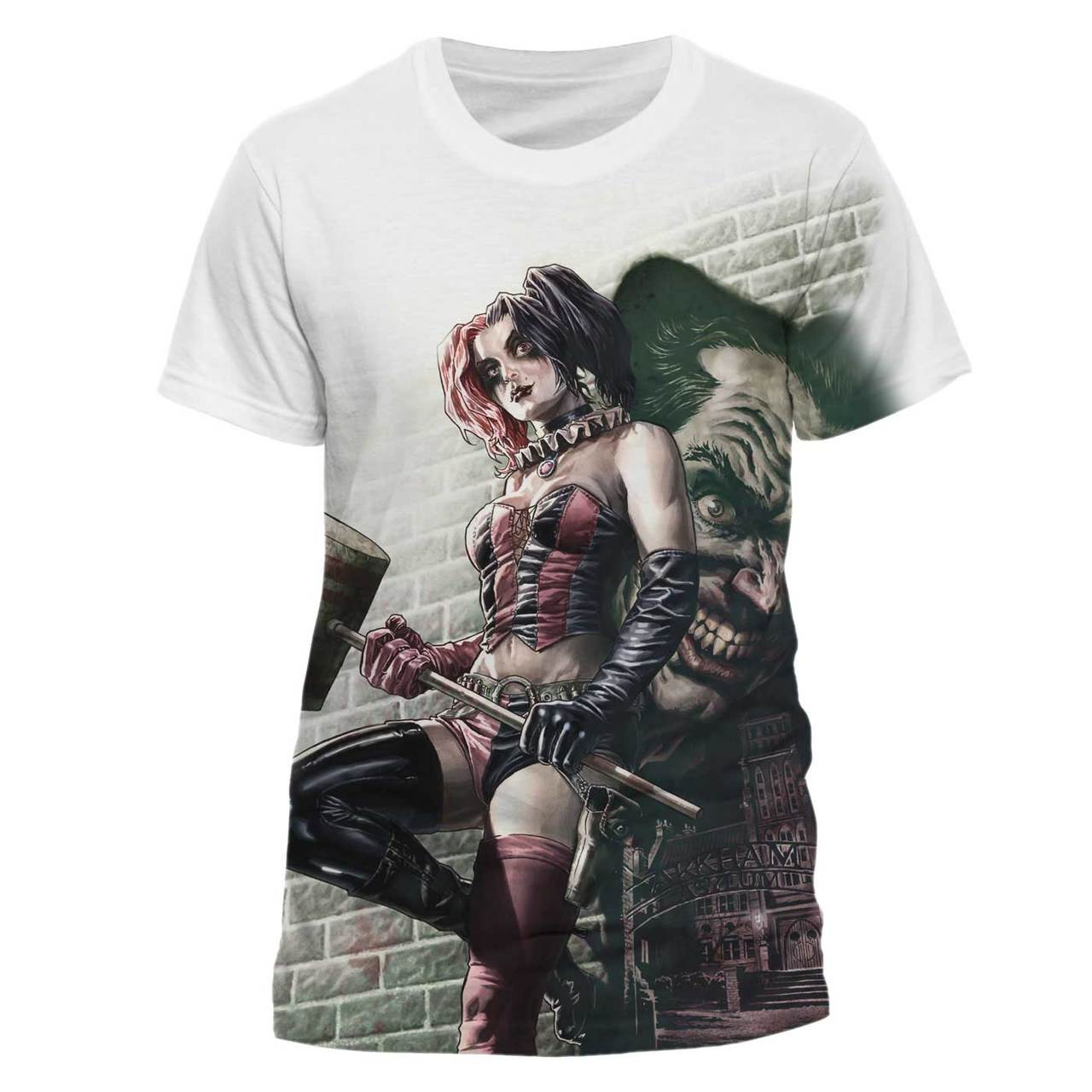 UNISEX or LADIES Official SUICIDE SQUAD Harley Quinn T-Shirt